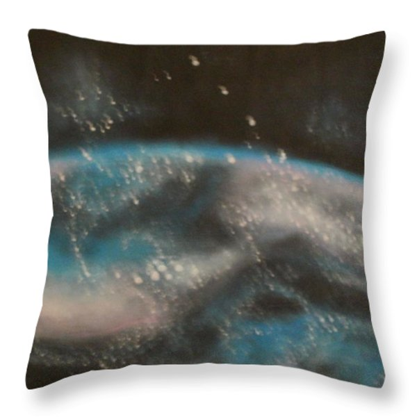 Worldly Throw Pillow by Thomasina Durkay