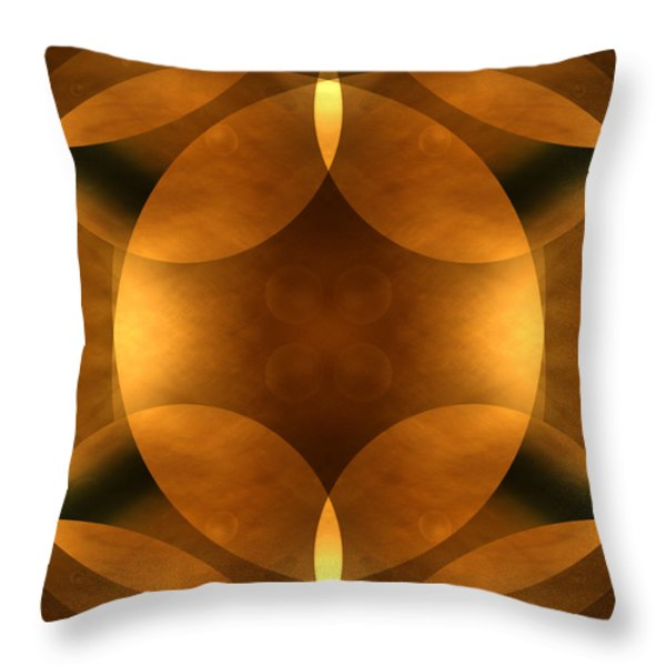 Worlds Collide 11 Throw Pillow by Mike McGlothlen