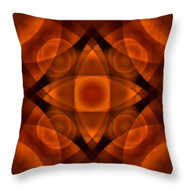 Worlds Collide 15 Throw Pillow by Mike McGlothlen