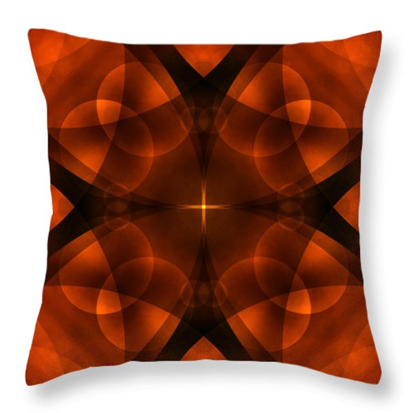 Worlds Collide 16 Throw Pillow by Mike McGlothlen
