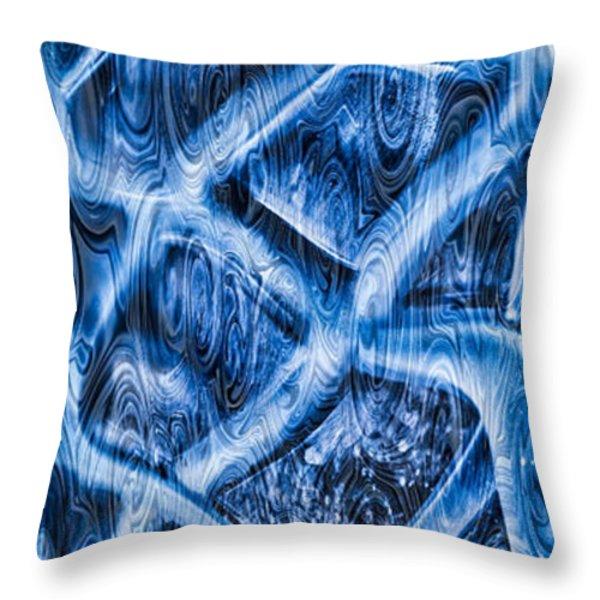 Woven Beauty Throw Pillow by Omaste Witkowski