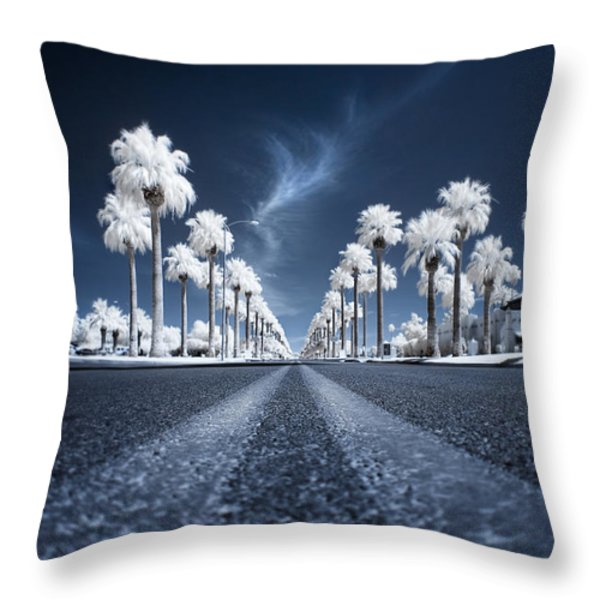 X Throw Pillow by Sean Foster