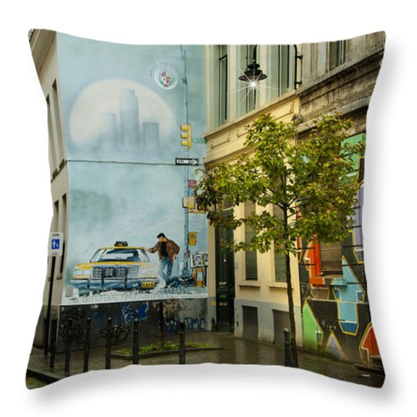 XIII Throw Pillow by Juli Scalzi