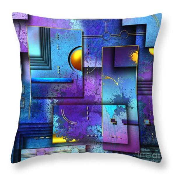 XXX Throw Pillow by Franziskus Pfleghart