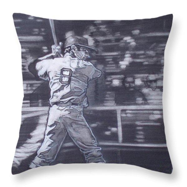 Yaz - Carl Yastrzemski Throw Pillow by Sean Connolly