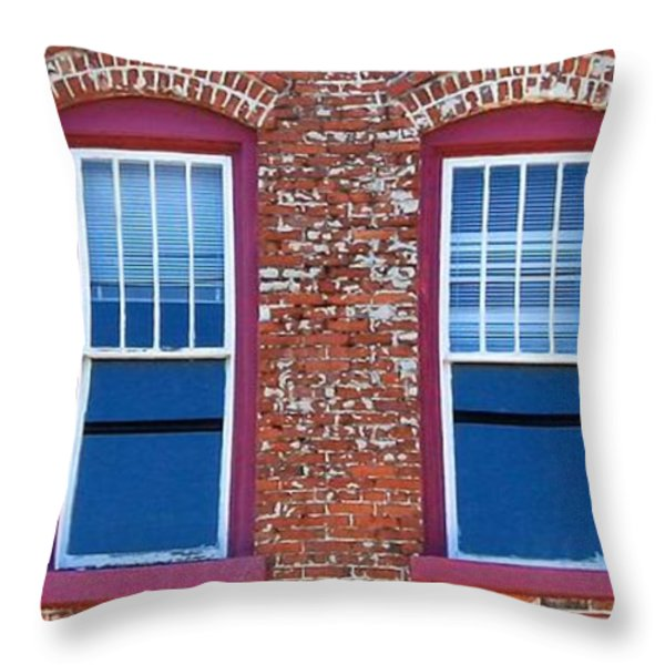 Ybor City 2013 8 Throw Pillow by David Beebe