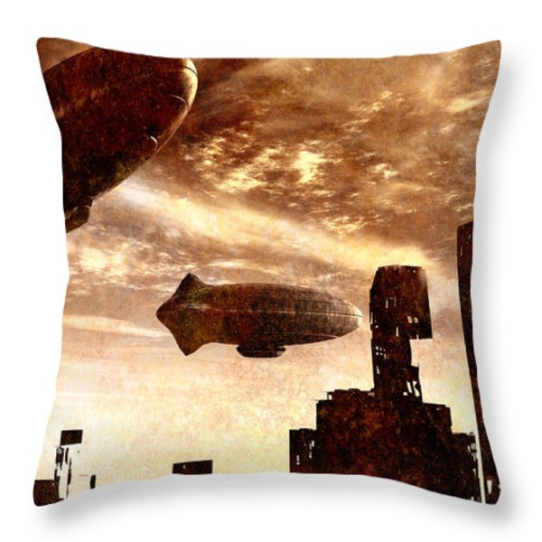Yesterday Throw Pillow by Bob Orsillo