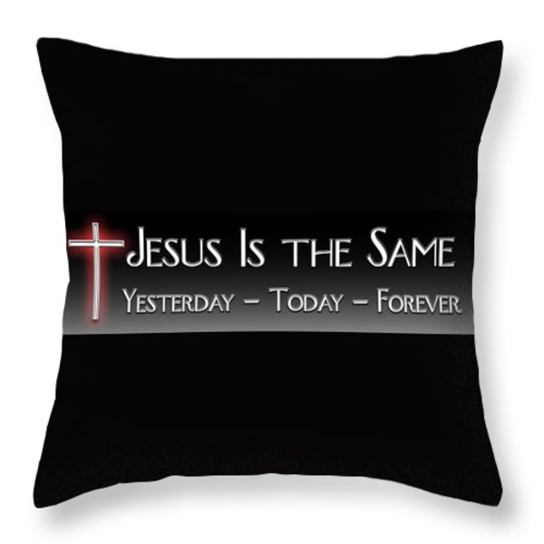 Yesterday Today Forever Throw Pillow by Carolyn Marshall