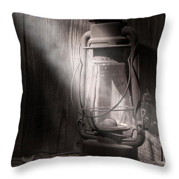Yesterday's Light Throw Pillow by Tom Mc Nemar