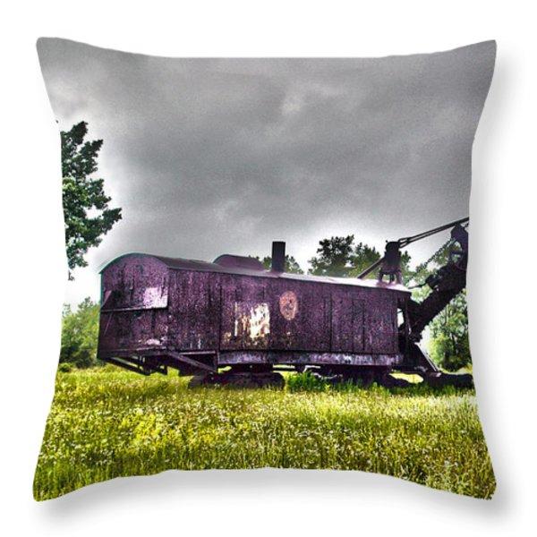 Yesteryear - HDR Look Throw Pillow by Rhonda Barrett