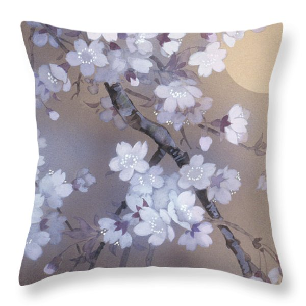 Yoi Crop Throw Pillow by Haruyo Morita