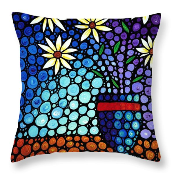 You Cant Hide Beautiful Throw Pillow by Sharon Cummings