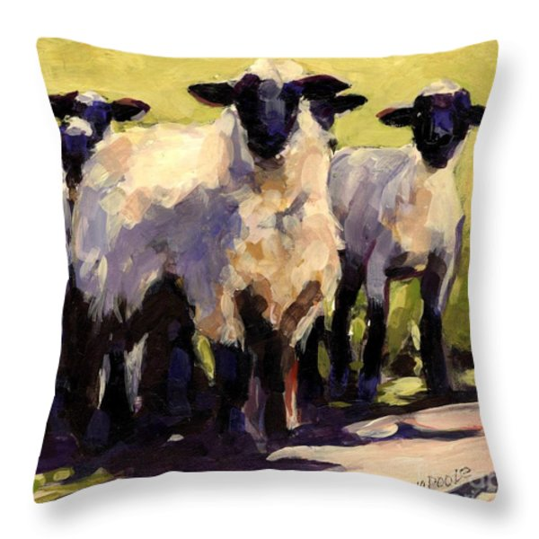 You First Throw Pillow by Molly Poole
