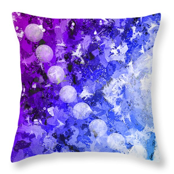 You Know Me 3 Throw Pillow by Angelina Vick