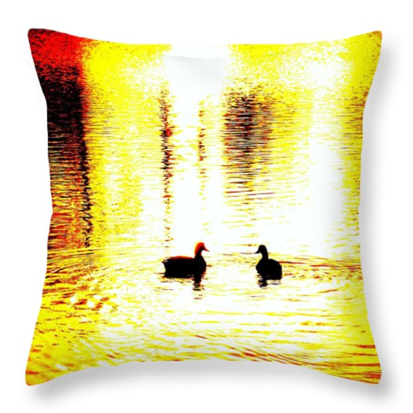 You Light Up My Life  Throw Pillow by Hilde Widerberg