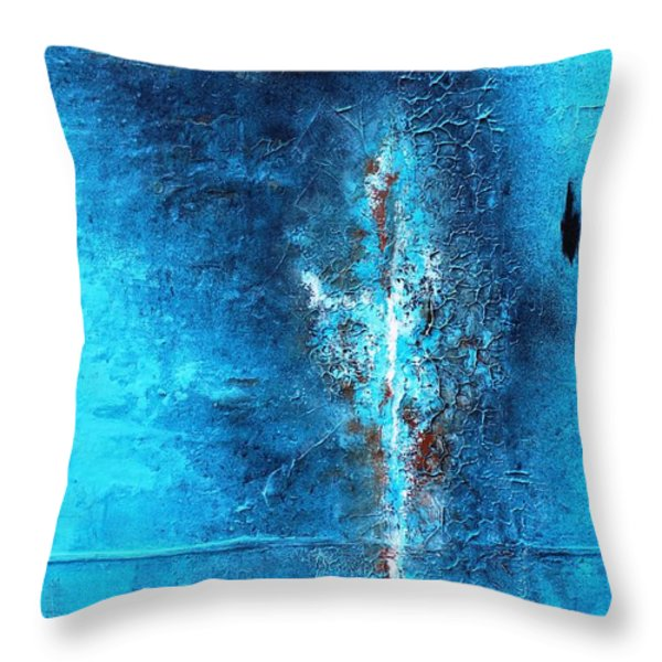 You  Me And Chi Chi Throw Pillow by Tia Marie McDermid