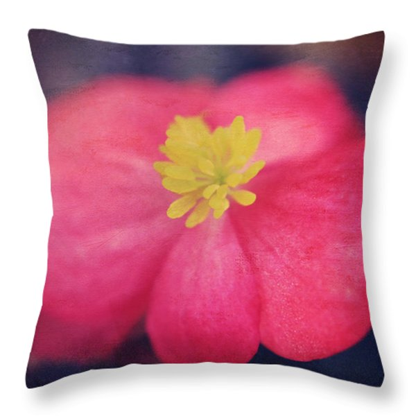 You Touch My Soul Throw Pillow by Laurie Search