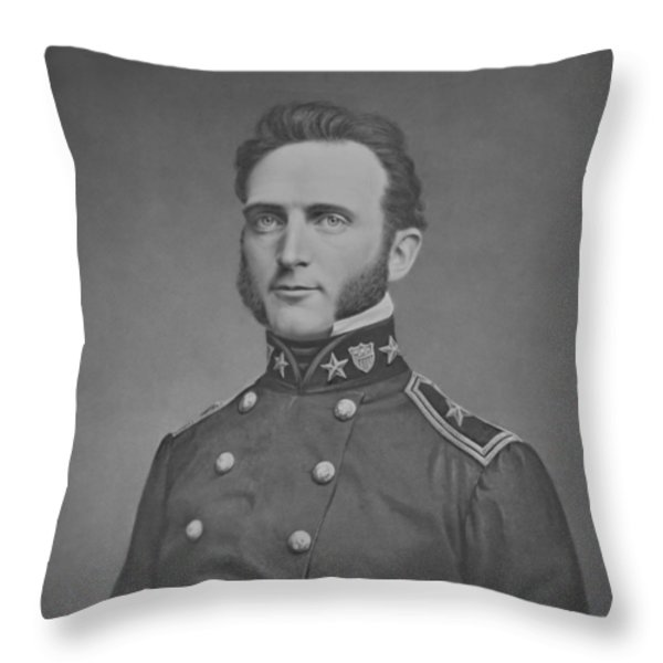 Young Stonewall Jackson  Throw Pillow by War Is Hell Store