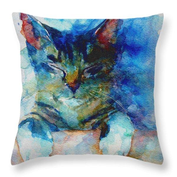 You've Got A Friend Throw Pillow by Paul Lovering