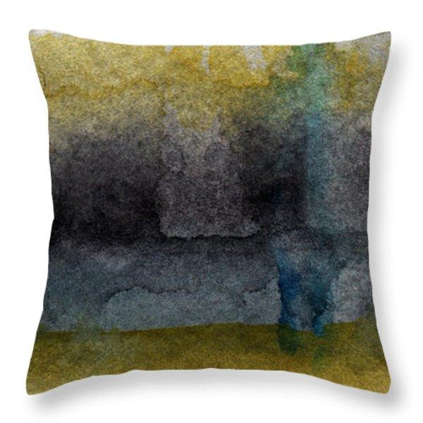 Zen Moment Throw Pillow by Linda Woods