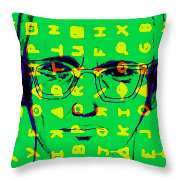 Zodiac Killer With Code and SIgn 20130213 Throw Pillow by Wingsdomain Art and Photography