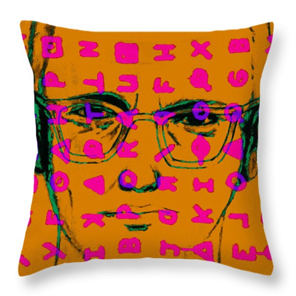 Zodiac Killer With Code and SIgn 20130213m80 Throw Pillow by Wingsdomain Art and Photography