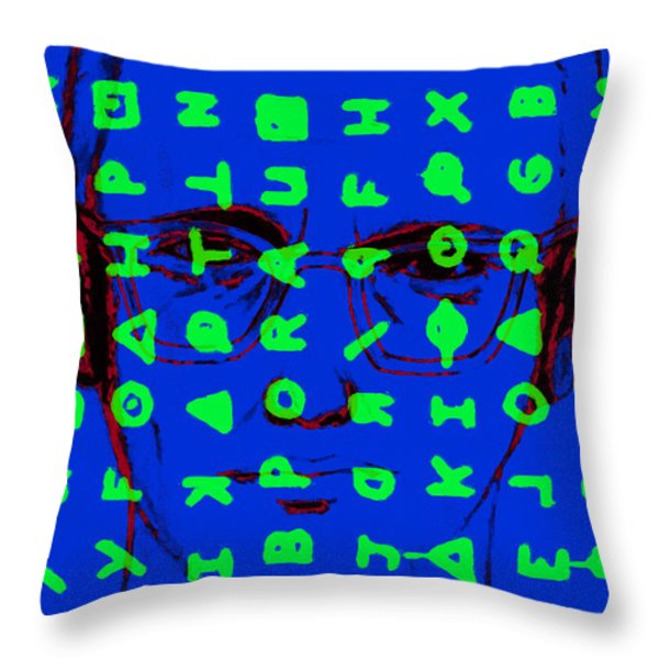 Zodiac Killer With Code and SIgn 20130213p98 Throw Pillow by Wingsdomain Art and Photography
