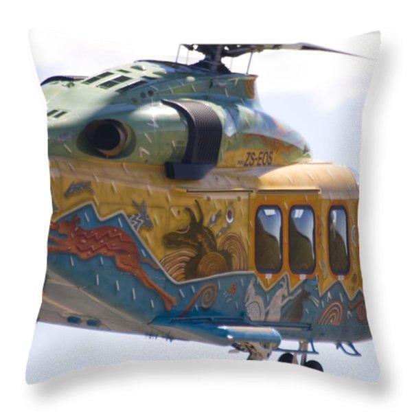 Zoo Landing Throw Pillow by Paul Job