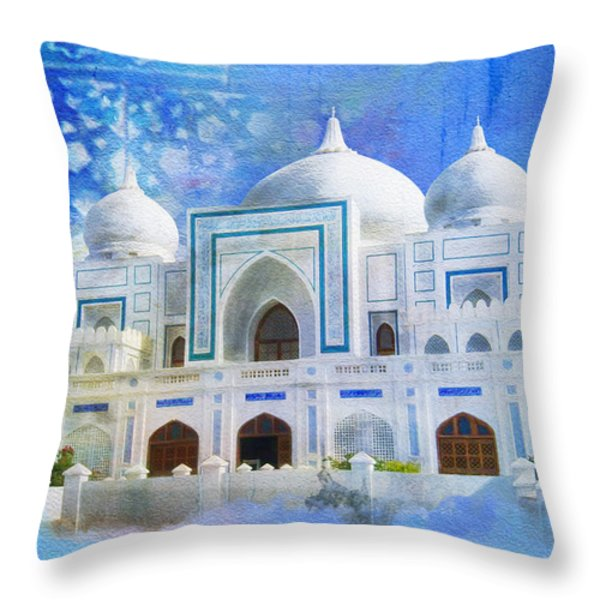 Zulfiqar Ali Bhutto Throw Pillow by Catf