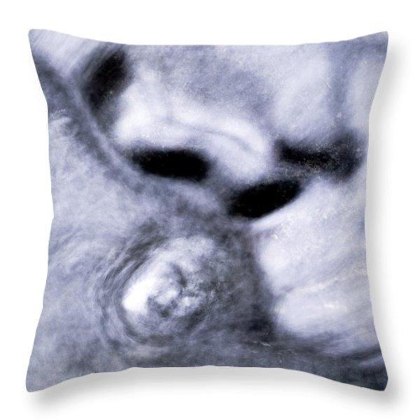 Abstract Throw Pillow by Odon Czintos