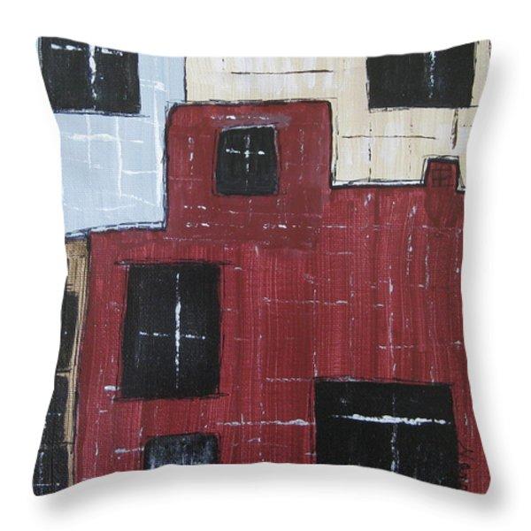 Eureka Springs Arkansas #1 Throw Pillow by Nancy Pace