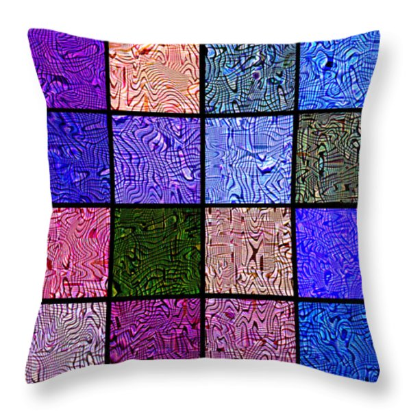 0663 Abstract Thought Throw Pillow by Chowdary V Arikatla