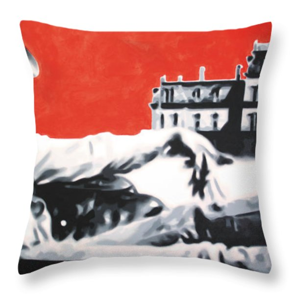 - Giant - Throw Pillow by Luis Ludzska