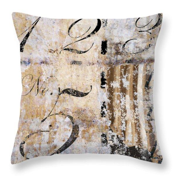 1235 Hidden 4 Throw Pillow by Carol Leigh