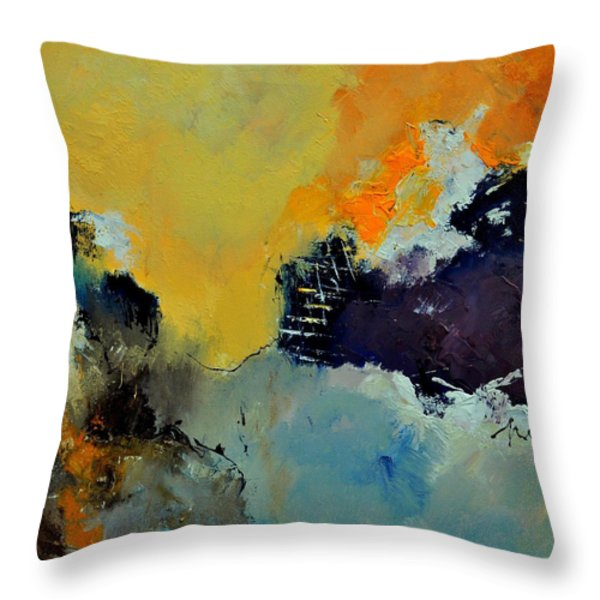 Abstract 8821013 Throw Pillow by Pol Ledent