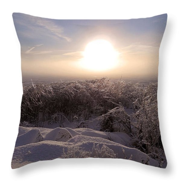 After The Storm ... Throw Pillow by Juergen Weiss