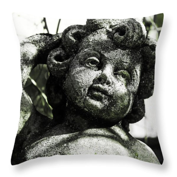 angel Throw Pillow by Joana Kruse