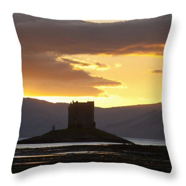Appin, Argyll & Bute, Scotland Throw Pillow by Axiom Photographic