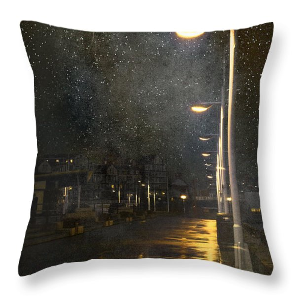 at Night Throw Pillow by Svetlana Sewell