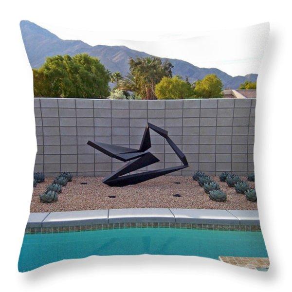 Ballet Throw Pillow by John Neumann