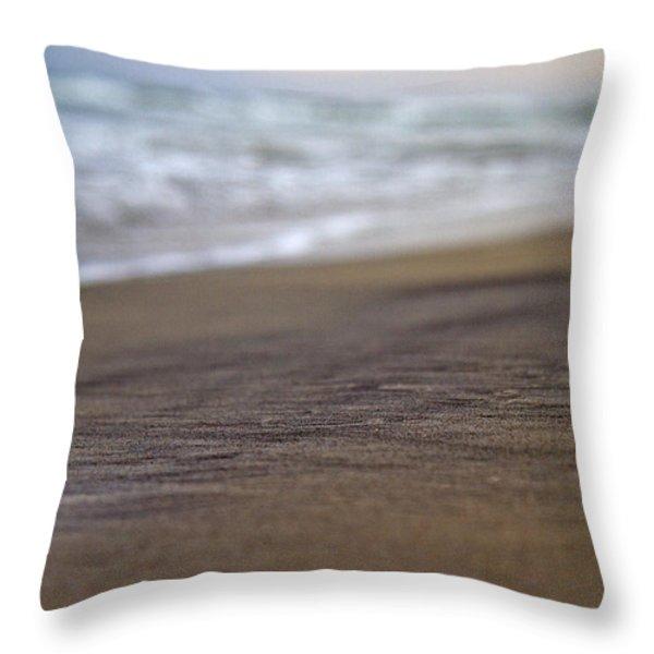 Beach Throw Pillow by Betsy A  Cutler