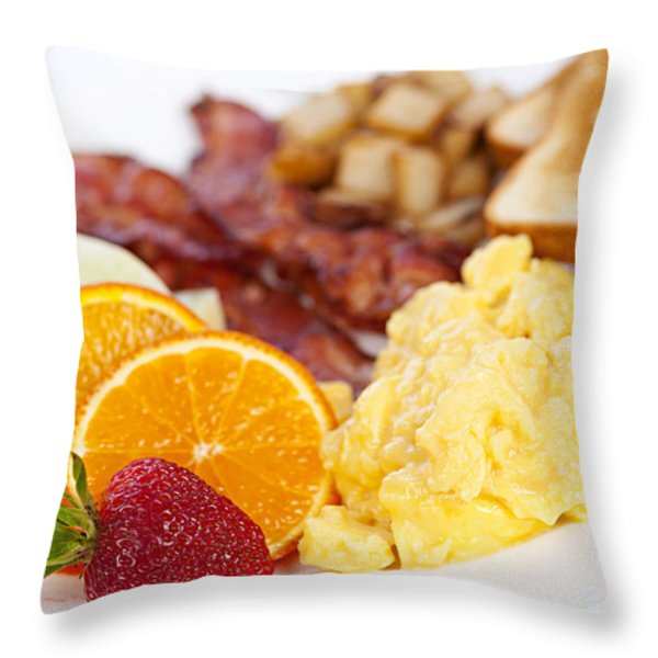 Breakfast  Throw Pillow by Elena Elisseeva