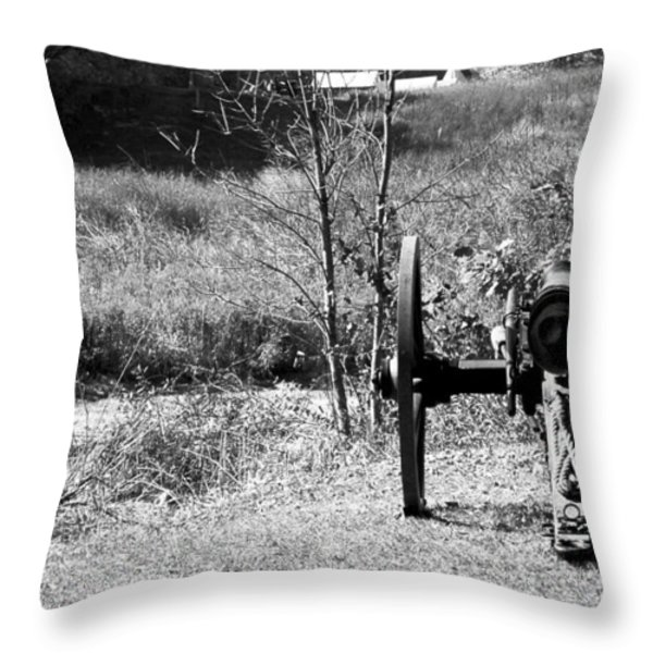 Canon Fire Throw Pillow by LeeAnn McLaneGoetz McLaneGoetzStudioLLCcom