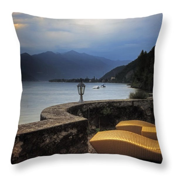 canvas chairs Throw Pillow by Joana Kruse