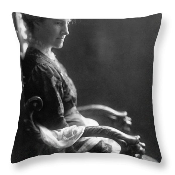 Charlotte Perkins Gilman Throw Pillow by Granger