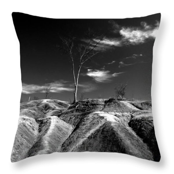 Cheltenham Badlands Throw Pillow by Cale Best