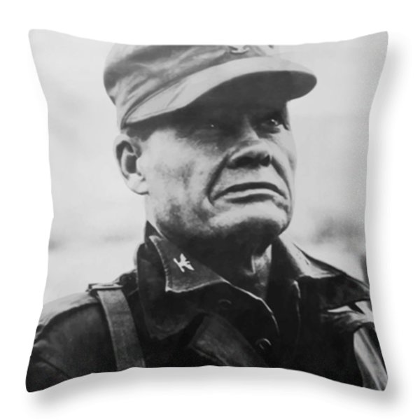 Chesty Puller Throw Pillow by War Is Hell Store