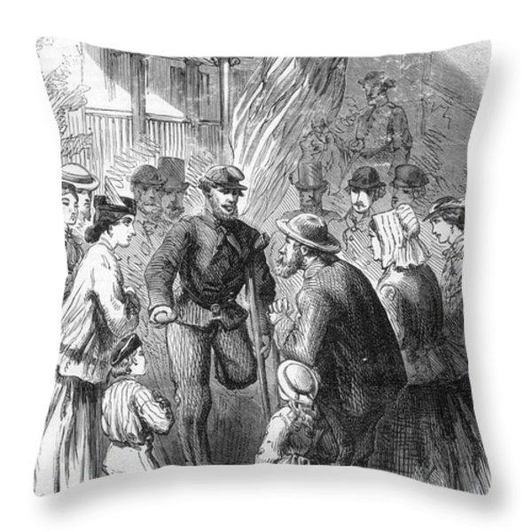 Civil War: Veteran, 1867 Throw Pillow by Granger