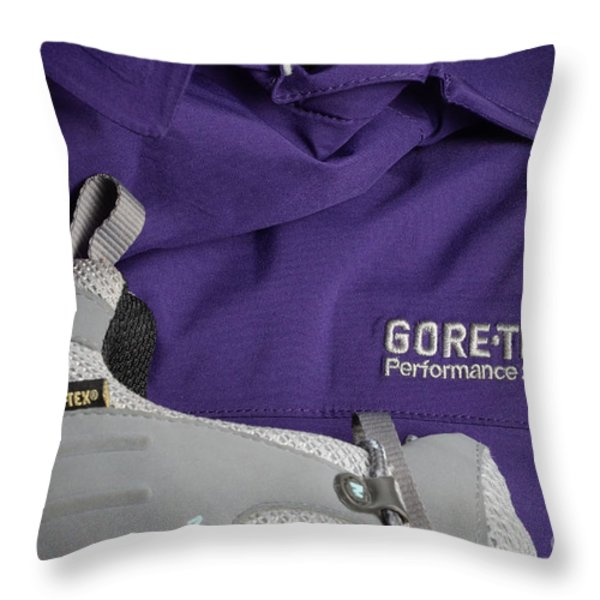 Clothing Technology Throw Pillow by Photo Researchers, Inc.