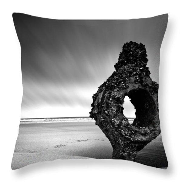 Coastline Throw Pillow by Svetlana Sewell